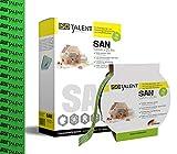 ISOTALENT - SAN Klebeband (Grün - 50mm x 25lfm) zur Verklebung von Dampfsperrfolien, Dampfbremsfolien, Dampfbremse, Dampfsperre, OSB Dach Folie