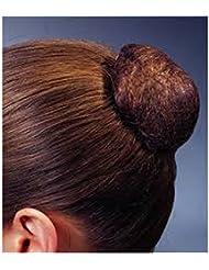 Lion Hair Lot de 3 filets à chignon Marron