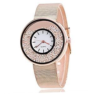Mode Liebhaber Uhren Luxus Quarz Analog Handgelenk Legierung Geschäft Armbanduhr für Männer Frau Groveerble