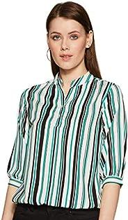 KRAVE Women's Striped Regular Fit