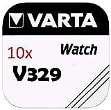 VARTA KNOPFZELLEN 329 SR731SW (10 Stück, V329)