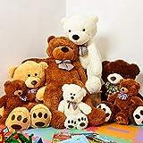 XXL Teddybär, 120 cm (Lumaland) - 6