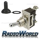 Waterproof Toggle Flick Switch 12V ON/OFF Car Dash Light Metal 12 Volt SPST