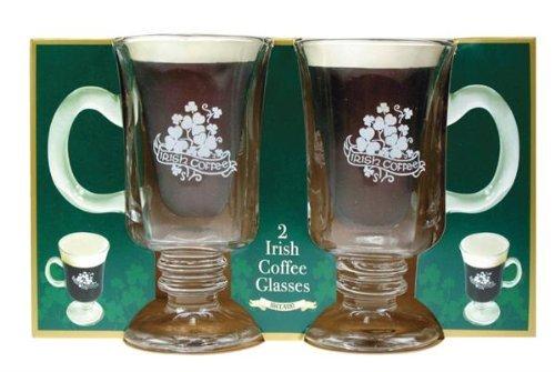 The Shamrock Gift Gl�ser f�r Irish Coffee, 2 St�ck
