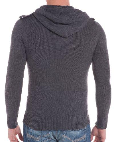 BLZ jeans - Pull cintré gris foncé Gris