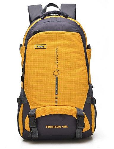 HWB/ 45 L Travel Organizer / Rucksack / Tourenrucksäcke/Rucksack Camping & Wandern DraußenWasserdicht / Schnell abtrocknend / tragbar / Yellow