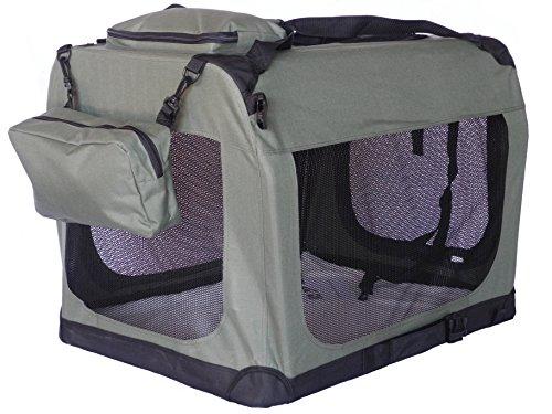 Go Pet Club Soft-Transportbox für Hunde, 81,28cm, Salbei