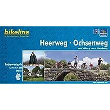 Heerweg/Ochsenweg: Von Viborg nach Hamburg - Ein original bikeline-Radtourenbuch, 1 : 75 000, wetterfest/reißfest, GPS-Tracks Download