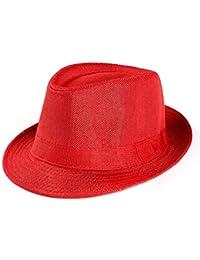 Unisex Sombrero De Panamá Hombres Mujeres Sombrero Protector De Solar Verano Sombrero Acogedor De Ocio Moda Playa De Vacaciones Sombrero Sombrero De Paja