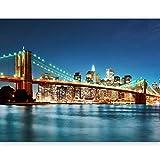 murando - Fototapete 350x270 cm - Vlies Tapete - Moderne Wanddeko - Design Tapete - Wandtapete - Wand Dekoration - New York 100404-125