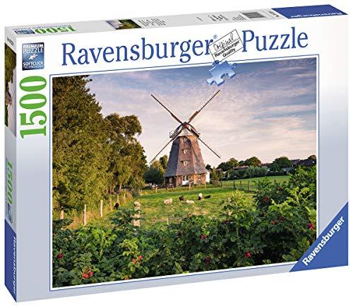Ravensburger 16223 Puzzle Windmühle an der Ostsee