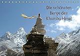 Die schönsten Berge des Khumbu Himal (Tischkalender 2019 DIN A5 quer): Khumbu oder Khumbu Himal ist eine Region des Himalaya im Nordosten Nepals an ... (Monatskalender, 14 Seiten ) (CALVENDO Orte)