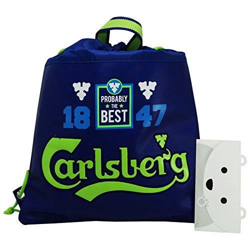 carlsberg-mochila-bolso-escolar-bolsa-cuerdas-azul