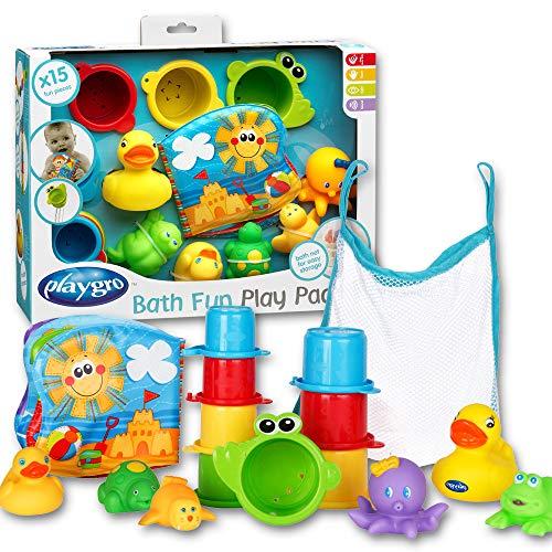 15-teiliges Badespielzeug-Geschenkset - Badewannenspielzeug - Baby Badespielzeug - Kinder Badewannenspielzeug Set