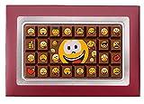 Weibler Confiserie Geschenkpackung Smile Edelvollmilch Schokolade 70g
