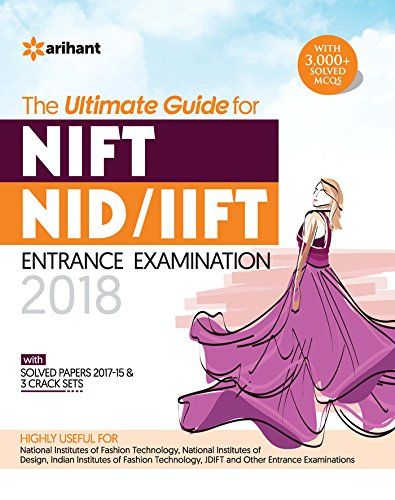 NIFT/NID/IIFT Entrance Examination 2018 price comparison at Flipkart, Amazon, Crossword, Uread, Bookadda, Landmark, Homeshop18