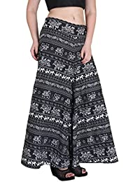 Hipe Indian Ethnic Designer Printed Casual Wear Palazzo Pant For Women's - B0759J4854
