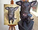 Custom Pet Portrait of Your or Friends Dog - Best Reviews Guide