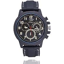 Souarts Herren Armbanduhr Einfach Stil Sport Analoge Quarz Uhr Weiß 24cm