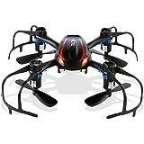 TECBEAN X902 Viuda Negro Mini RC Drone 2,4Ghz Quadcopter 3D Flip Función Alta/Baja Velocidad Cambiar Fácil Para Los Principiantes