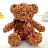 VERCART Teddybär Kind Spielzeug Kind Mädchen stagsgeschenk für die Geburt Dunkelbraun 75cm