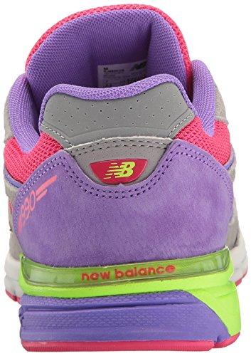 New Balance , Baby Jungen Krabbelschuhe & Puschen Grau / Pink