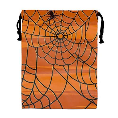 Naiyin Scary Halloween 3D Print Drawstring Bag Sport Gym Bag on 2 Sides (Scary Halloween-make-up Cat)