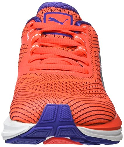 Puma Speed 600 S Ignite Wn, Chaussures de Running Compétition Femme Rouge - Rot (Red blast-puma White-Royal Blue 01)
