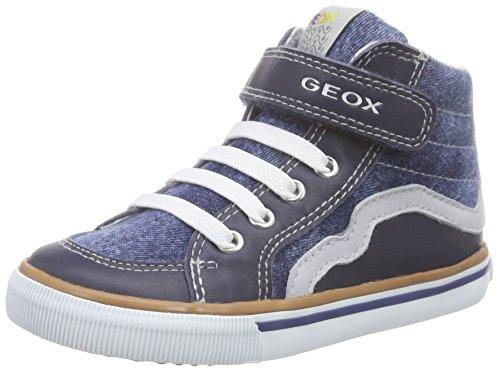 Geox B Kiwi C, Chaussures Bébé marche bébé garçon, Bleu (C4381), 23 EU
