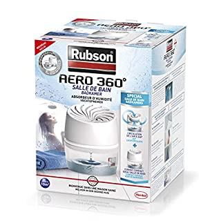 Absorbeur d'humidité RUBSON AERO 360° Spécial Salle de Bain