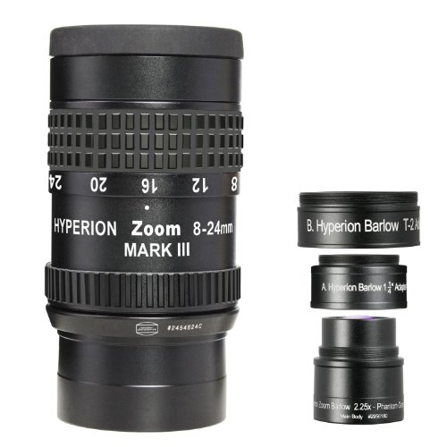 Affordable Baader Planetarium Hyperion Zoom Eyepiece / Long Focal Length 8-24 mm / 3 Pieces ( German Import ) Reviews