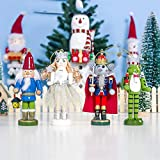 Ruier-hui Weihnachtsmann Nussknacker Holz Bemalte Weihnachtspuppe Ornamente Mode Weihnachtspuppe Kinder Geschenk Spielzeug Für Weihnachten Festliche Weihnachtsdekoration Very Well