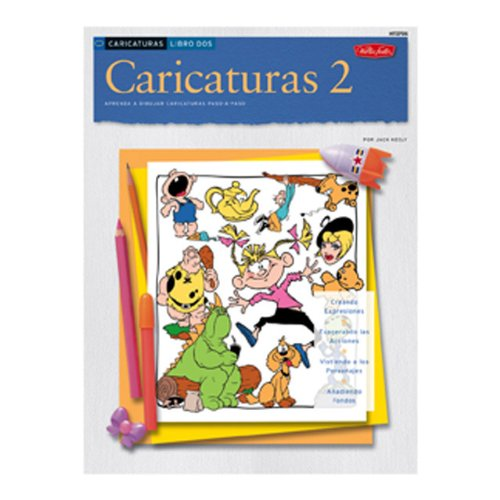 Caricaturas: Caricaturas 2 (How to Draw and Paint) por Jack Keely