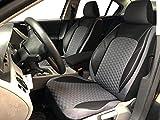 Sitzbezüge K-Maniac für BMW X1 E84 | Universal schwarz-grau | Autositzbezüge Set Vordersitze | Autozubehör Innenraum | Auto Zubehör Kunstleder | V1707887 | Kfz Tuning | Sitzbezug | Sitzschoner