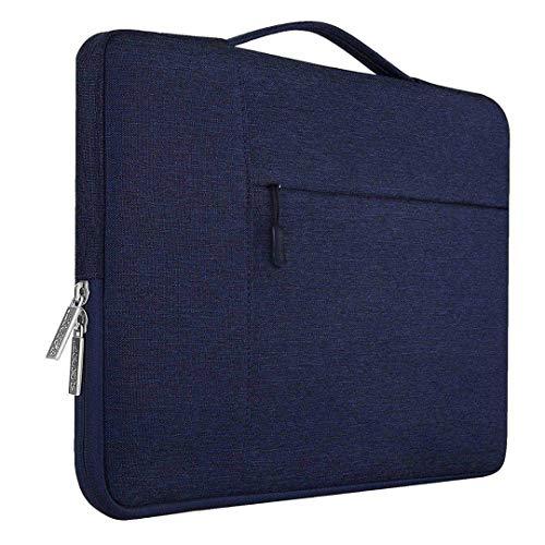 11 12 13 14 15 Zoll-Laptop-Tasche wasserdicht für Mann-Frauen-Laptop-Hülsen-Fall Navy Blue 15-15.6 inch