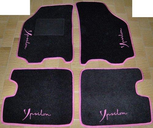 tappeti-neri-con-bordo-fucsia-per-auto-set-completo-di-tappetini-in-moquette-su-misura-con-ricamo-a-