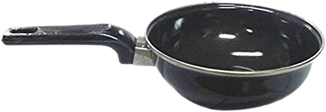Brandroot Rynox Induction Base Hard Anodized Tadka Pan Nonstick/Light Weight/Durable