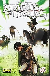Ataque a los titanes 20 par  Hajime Isayama