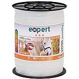 VOSS.farming Nastro per Recinzione elettrica, Lunghezza 200 m, Larghezza 40 mm, con Fili in Acciaio Inox 9 x 0,16