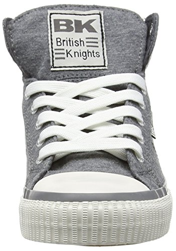 British Knights Dee, Baskets hautes femme Gris - Grau (DK Grey 01)