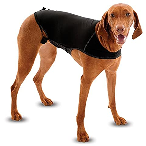 Anxiety Wrap Dog Coat, instant therapy for dogs afraid of storms, loud noises, travel, strangers and separation. Size 5 (Medium)