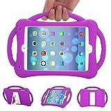 Coopts Kids custodia per iPad Mini 1234, resistente a prova di bambini con manico antiurto schiuma EVA copertura con supporto integrato per Apple iPad Mini, Mini 2, mini 3, mini 4
