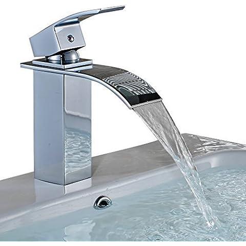 Auralum® Moderno Cascada Grifo de grifo del agua grifos de Cuenca Grifo del Fregadero