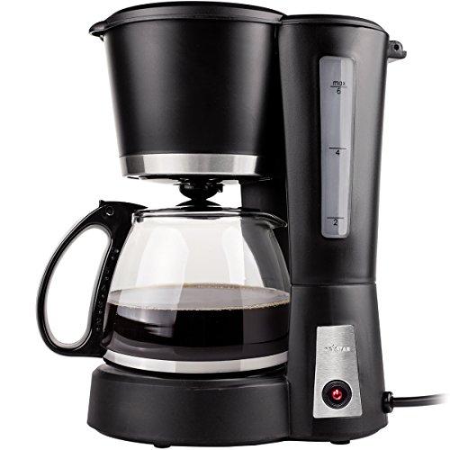 Siehe Beschreibung Kaffeemaschine mit Glaskanne und wiederverwendbarem Kaffeefilter 550W - Camping Wohnmobil 0,6 Liter Kaffeekocher Kaffee Outdoor