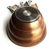 Royal Chef - Sartén Profesional de Aluminio Forjado - Recubrimiento Antiadherente Premium - Set de 3