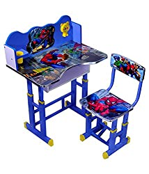 Spiderman Kids Table and Chair Set - Computer Table Chair for Kids, Study Table and Chair Set