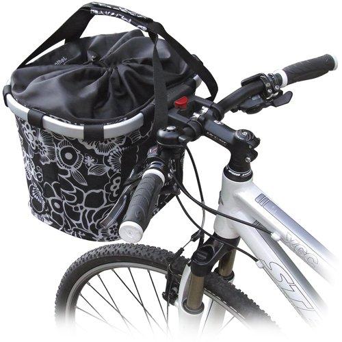 KLICKfix Unisex Fahrradtasche Bubble Anthracite