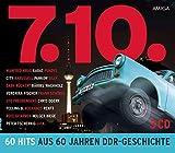Various: 7.10. - 60 Hits aus 60 Jahren DDR Geschichte (Audio CD)