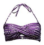 Beach Panties, Bikini Top, Hermosa, Bademode, Neckholder, Verschiedene Modelle (XS, Ovals I)