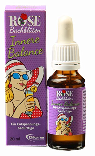 "ROSE ""Innere Balance"" - Bachblütenmischung, 20 ml Stockbottle"